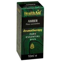 Health Aid Amber Oil  Bernsteinöl (Pinus succinefera) 10ml ätherisches Öl