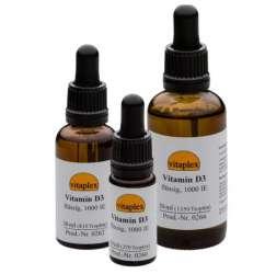 Vitaplex Vitamin D3 flüssig, 1.000 IE, 30 ml (810 Tropfen)