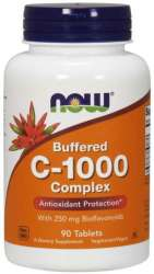 NOW Foods C-1000 Complex with 250mg Bioflavonoiden 90 Tabletten (vegan)