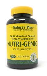 Natures Plus Nutri-Genic® 180 Tabletten (jodfrei) (296,1g)