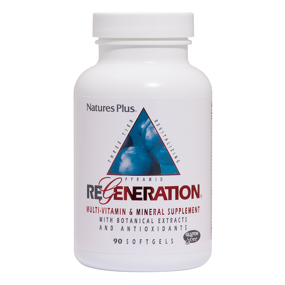 Natures Plus Regeneration® Multivitamin 90 Softgels (157,1g)