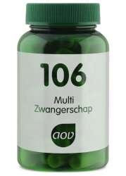 AOV 106 Multi Zwangerschap (Schwangerschaft) 60 veg. Kapseln