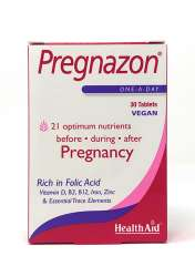 Health Aid Pregnazon® Blisterverpackung 30 Tabletten (vegan)