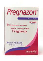HealthAid Pregnazon® Blisterverpackung 90 Tabletten (vegan)