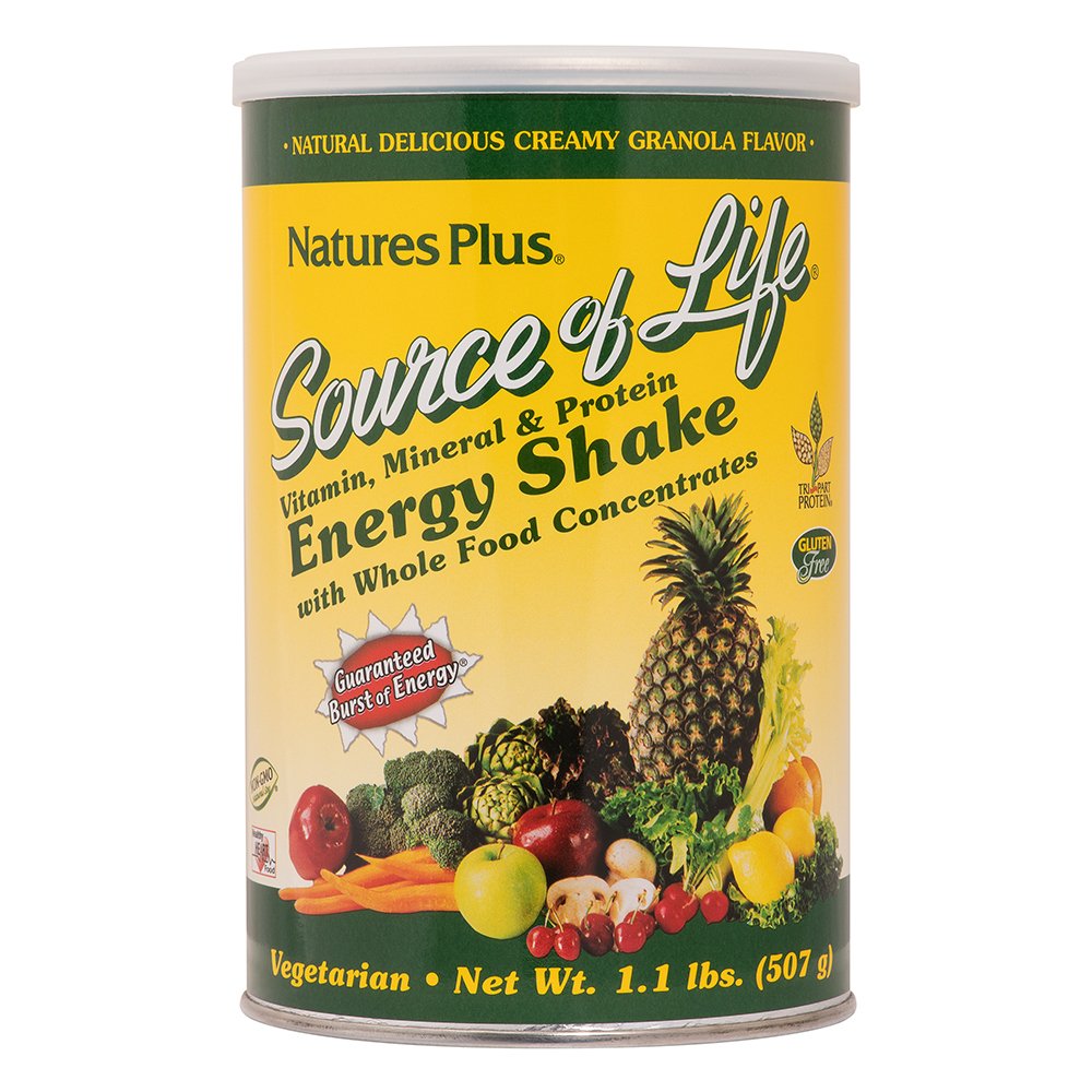Natures Plus Source of Life® Energy Shake 507g (1.1 lb.) Pulver (507g)