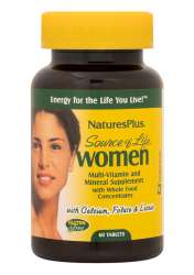 Natures Plus Source of Life® Women 60 Tabletten (136,5g)