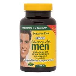 Natures Plus Source of Life Men 60 Tabletten (117g)