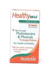 Health Aid Healthy Mega® Multivitamin S/R (verz. Freisetzung) 30 Tabletten