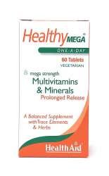 Health Aid Healthy Mega® Multivitamin S/R (verz. Freisetzung) 60 Tabletten
