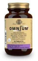 Solgar Omnium Tablets 30 Tabletten (vegan) (jodfrei)