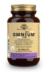 Solgar Omnium Tablets 60 Tabletten (vegan) (jodfrei)