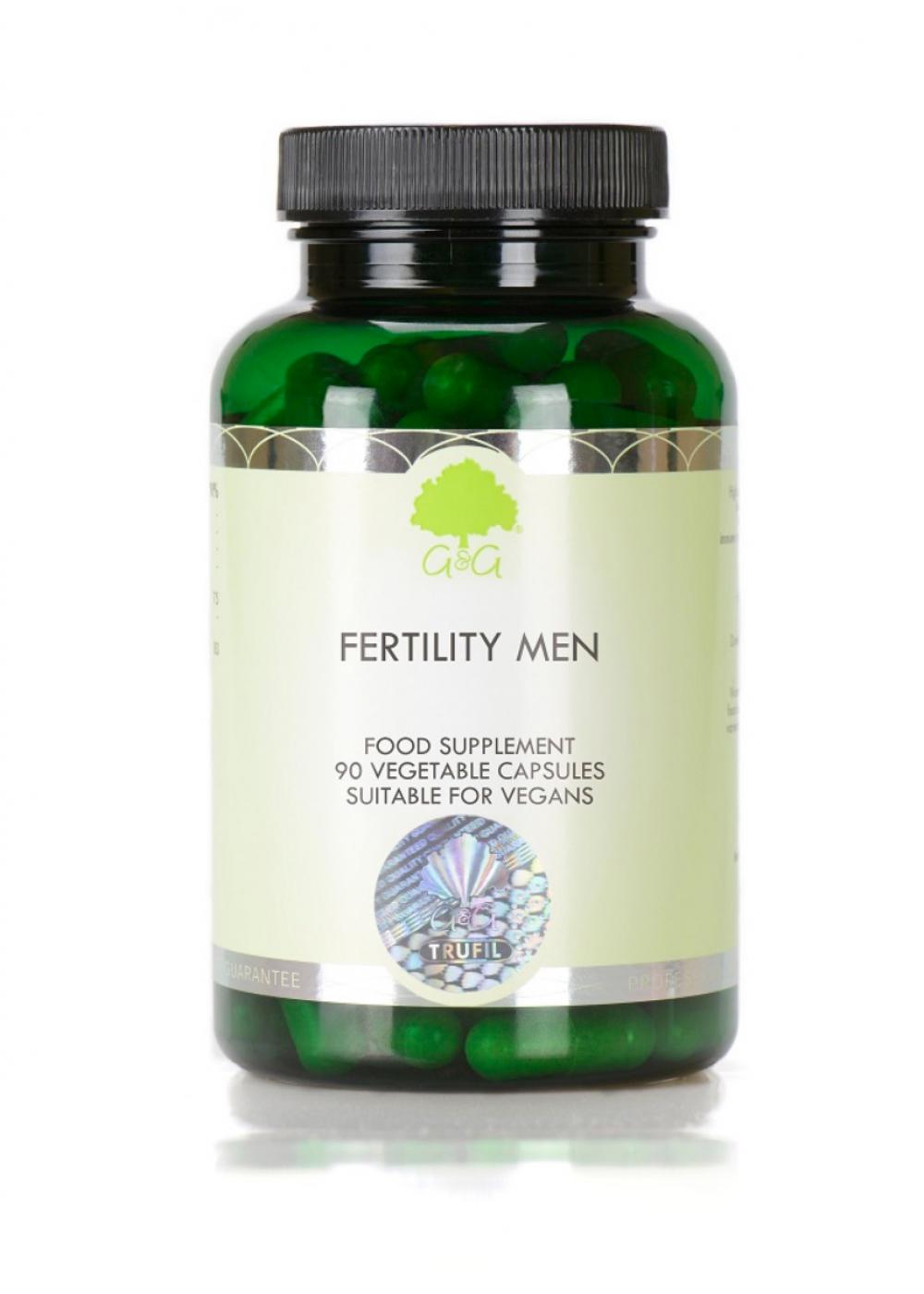 G&G Vitamins Fertility Men 90 veg. Kapseln (57,6g)