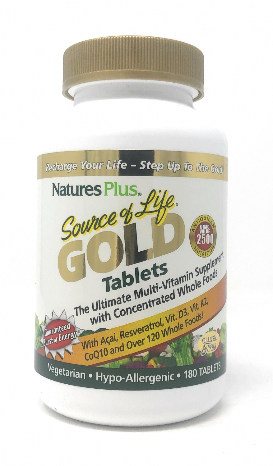Natures Plus Source of Life® Gold 180 Tabletten (425g)