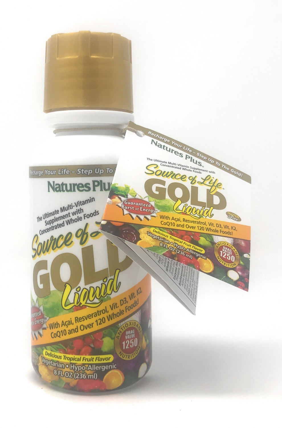 Natures Plus Source of Life GOLD Liquid Flasche 236 ml