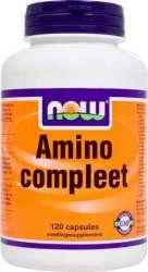 NOW Foods AMINO COMPLEET 120 Kapseln