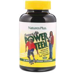 Natures Plus Source of Life® Power Teen 180 Tabletten (278,1g)