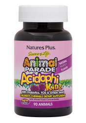 Natures Plus Source of Life Animal Parade® AcidophiKidz® 90 Lutschtabletten