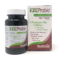 HealthAid KidzProbio[TM) Once-a-Day 5 mrd. 30g Pulver (vegan)