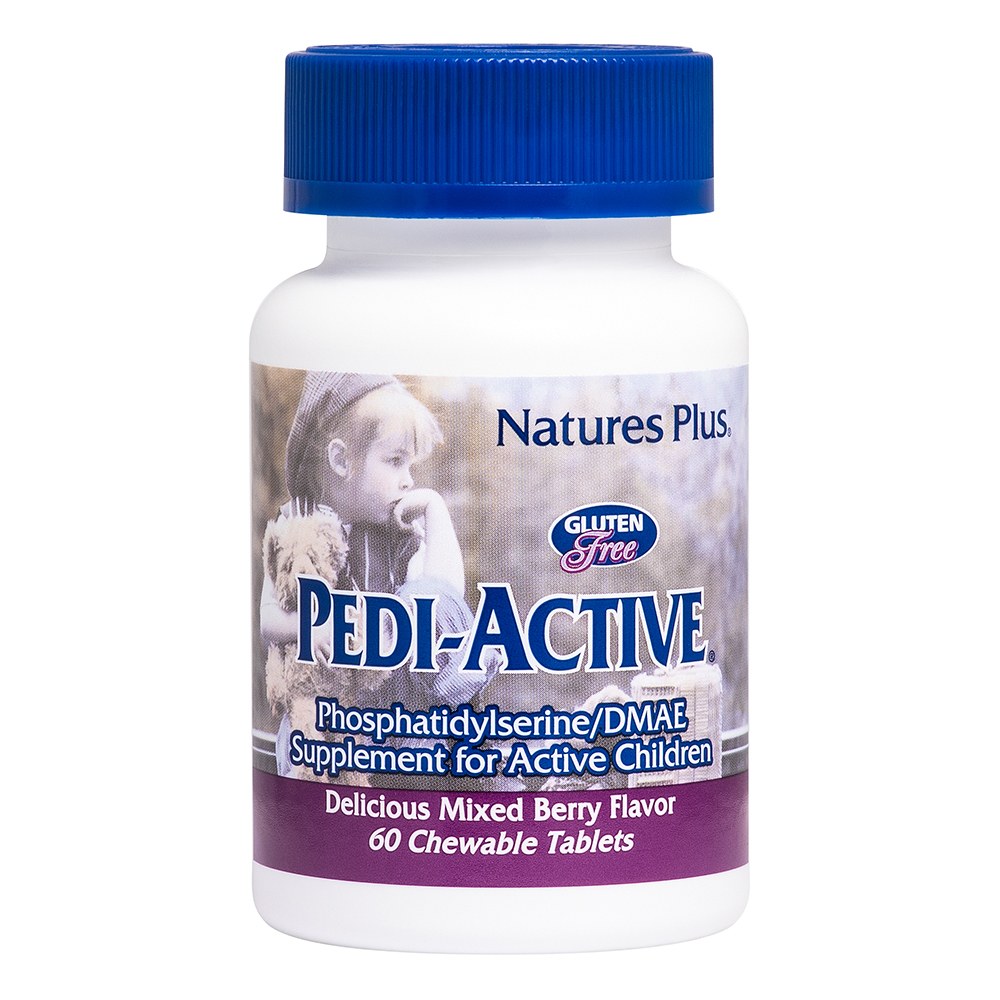 Natures Plus Pedi-Active® mit LECI-PS®/DMAE 60 Lutschtabletten (59,8g)