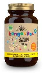 Solgar Kangavites Chewable Vitamin C 100mg 90 Kautabletten (vegan)