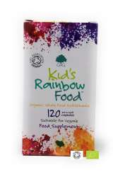 G&G Vitamins Bio Kids Rainbow Food Organic Whole Food Multivitamin 120 veg. Kapseln (28,4g) GB-ORG-005