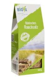 Biova Gourmetsalz Dänisches Rauchsalz 100 g Packung