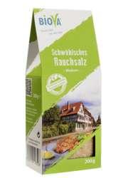 Biova Gourmetsalz Schwäbisches Rauchsalz 1,0-1,6mm 200g Faltschachtel
