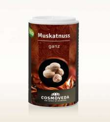 Cosmoveda BIO Muskatnuss ganz 5 Stk ca. 28g