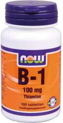 NOW Foods B-1 100mg 100 Tabletten
