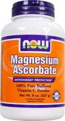 NOW Foods Magnesium Ascorbate 227 g Pulver