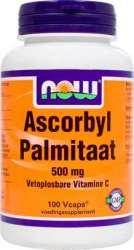 NOW ASCORBYL PALMITAAT fettlösliches Vitamin C 100 Vcaps®