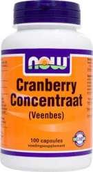 NOW CRANBERRY CONZENTRAAT 100 Kapseln