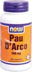 NOW Foods PAU DARCO (Lapacho) 100 Kapseln