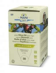 Mani Bio Olivenöl extra virgin Selection 3l Bag in Box (vegan)