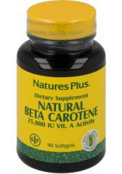 Natures Plus Natural Beta-Carotin 15 90 Softgels