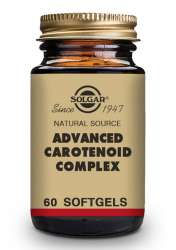 Solgar Advanced Carotenoid Complex [gemischte Carotionoide] 60 Softgels