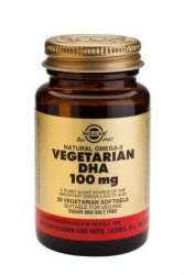 DHA 100mg Vegetarian 30 veg. Softgels SO (vegan)