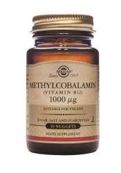 Solgar Methylcobalamin (Vitamin B12) 1000mcg 30 Nuggets (vegan)