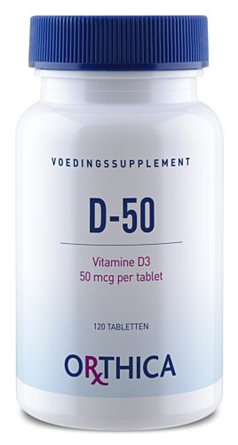 Orthica D-50 (50mcg Vitamin D) 120 Tabletten