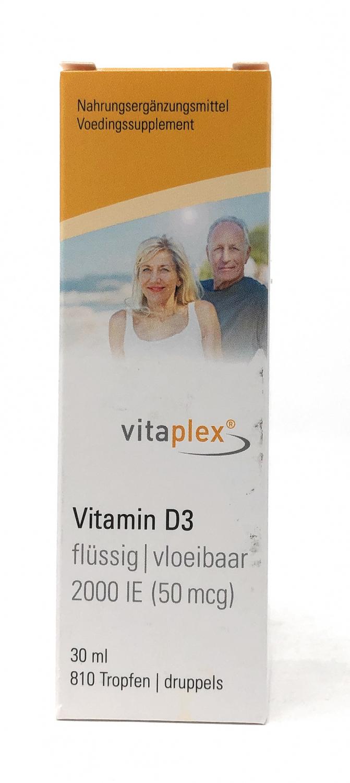 Vitaplex Vitamin D3 flüssig, 2000 IE (30 ml)
