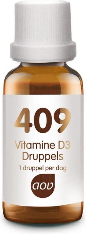 AOV 409 Vitamine D3 druppels 25mcg 15ml Tropfen