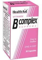 HealthAid Vitamin B Complex Supreme 30 Kapseln