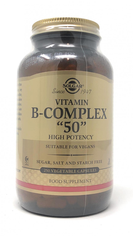 Solgar Formula Vitamin B-Complex 50 250 veg. Kapseln (vegan)