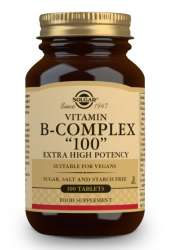 Solgar Vitamin B-Komplex 100  100 Tabletten (vegan)