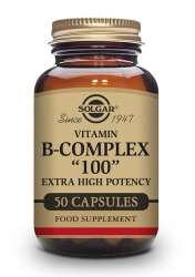 Solgar Vitamin B-Complex 100 50 veg. Kapseln (vegan)