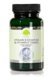 G&G Vitamins B-Komplex & Vitamin C 150mg 60 veg. Kapseln (30,6g) (vegan)