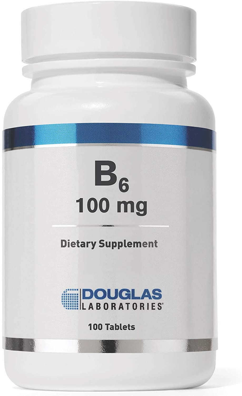 Douglas Labs B-6 100mg (vegan) (Pyridoxin) 100 Tabletten (vegan)