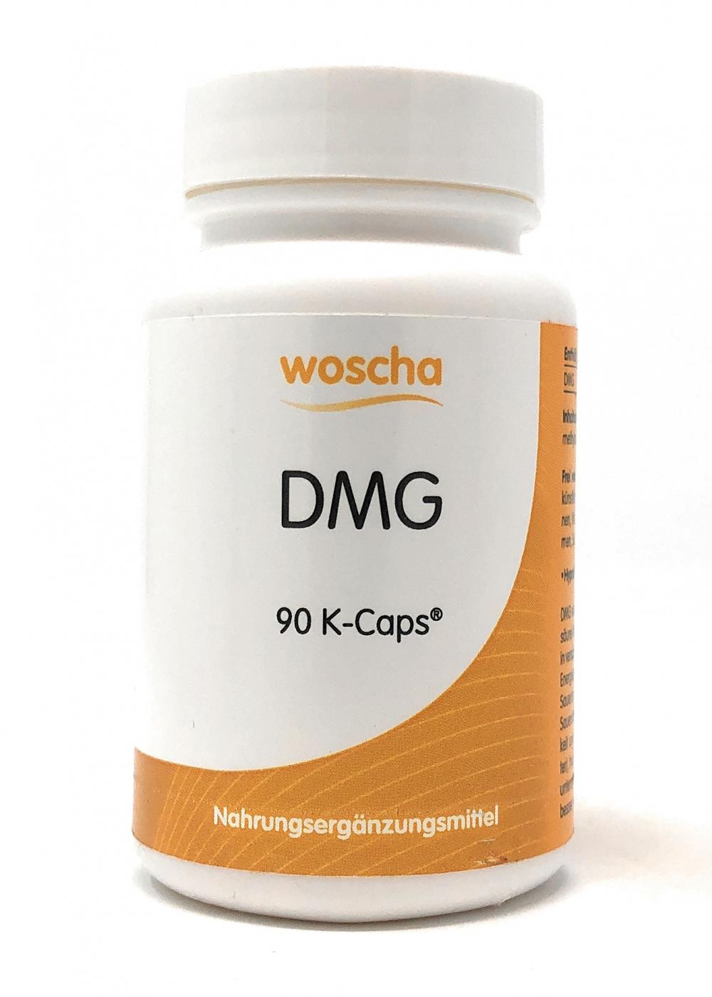 woscha DMG 90 K-Caps (19g)(vegan)