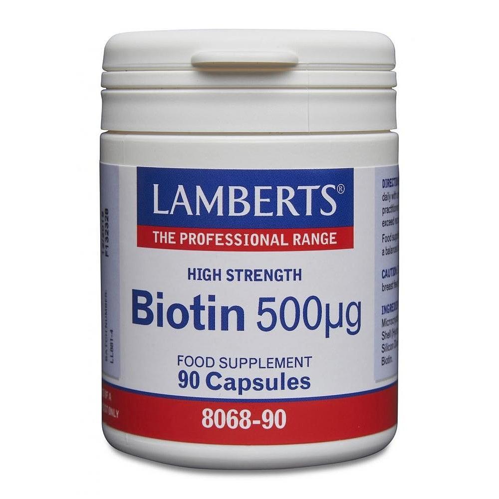 Lamberts Healthcare Ltd. Biotin 500 µg 90 Kapseln