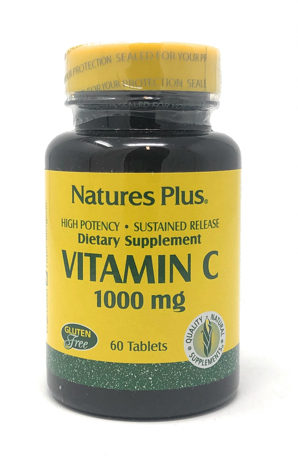 Natures Plus Vitamin C 1000mg Rose Hips 60 Tabletten S/R (90,5g)
